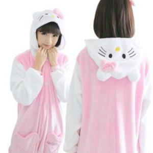 adult hello kitty onesie