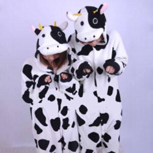 adult cow onesie
