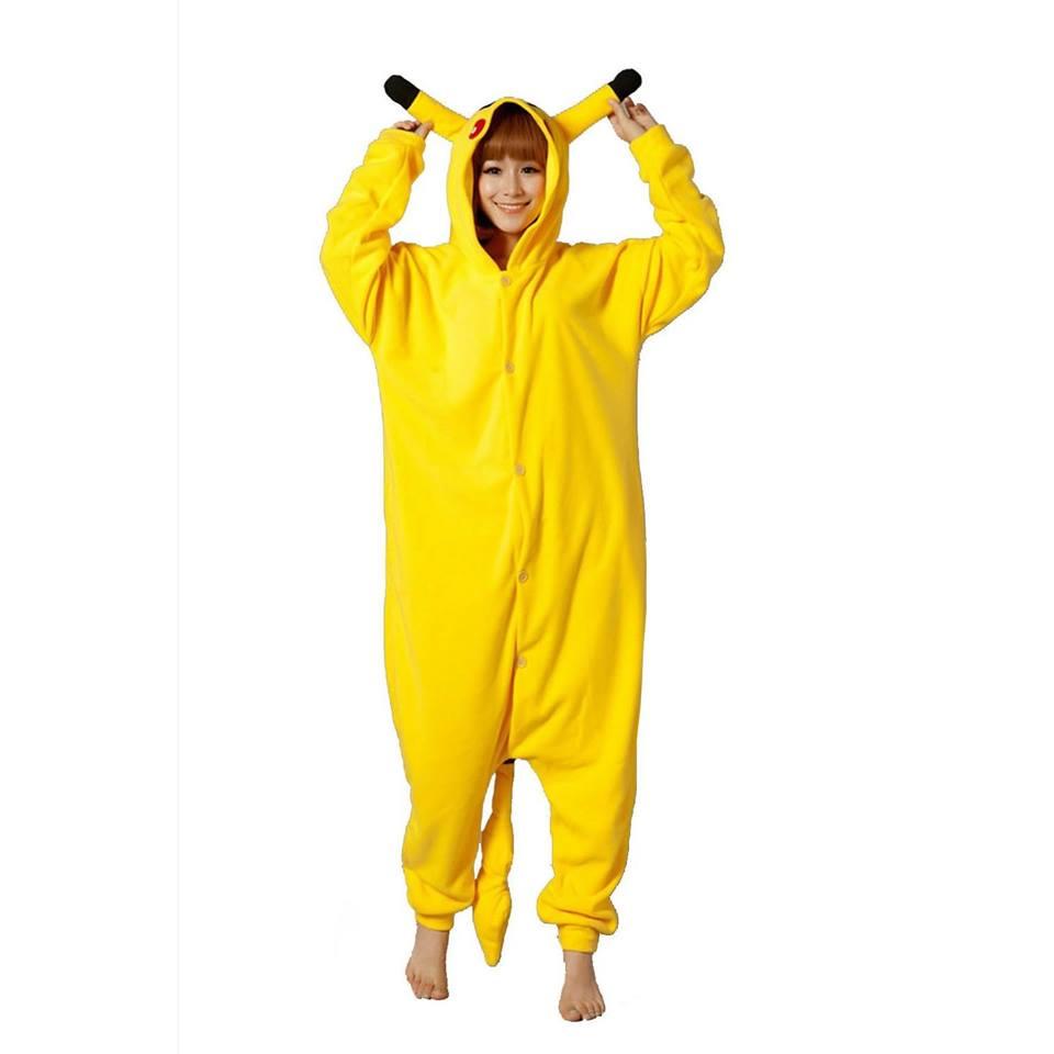 Adult Pikachu Onesie - Pokemon pikachu - buy online  ebc4b7fefdc3