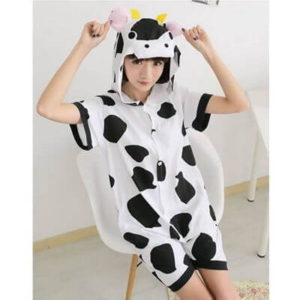 adult cow summer onesie