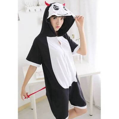 adult devil summer onesie