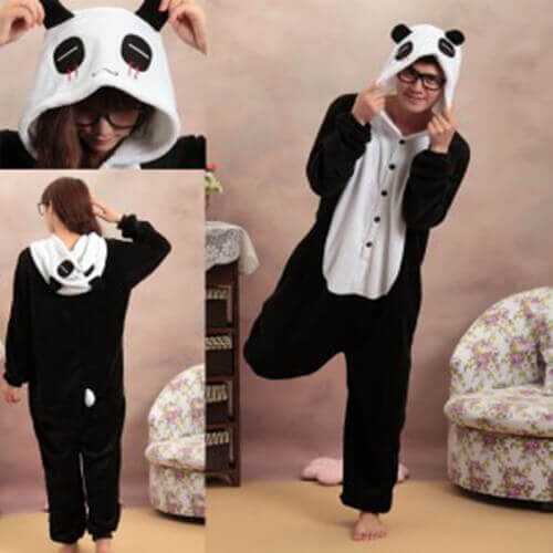 Panda Costumes. Showing 40 of results that match your query. Search Product Result. Product - M&M SCRUBS - FREE SHIPPING Infant Costumes Baby Costumes We Bare Bears Panda Onesie Teen Costume. Product - Child Deluxe Panda Costume. Product Image. Price $ Panda Mascot Adult Halloween Costume, Size: Men's - One Size. Product Image.