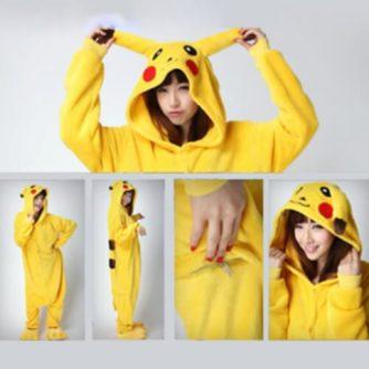 adult pikachu onesie