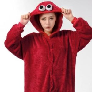 adult Elmo Onesie
