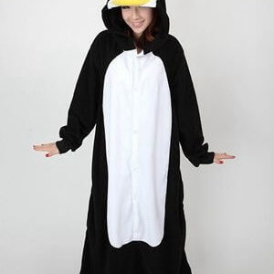 adult penguin onesie