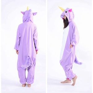 adult purple unicorn onesie