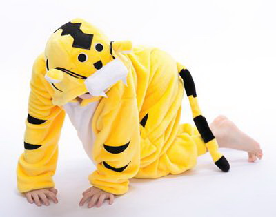 156b602420ef Kids Yellow Tiger Onesie - buy online