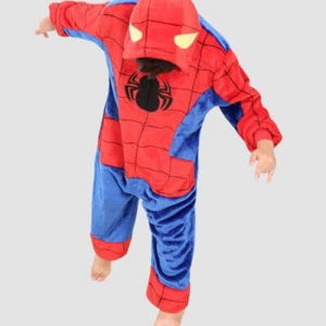 kids spiderman onesie