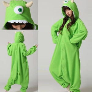 adult monster mike onesie