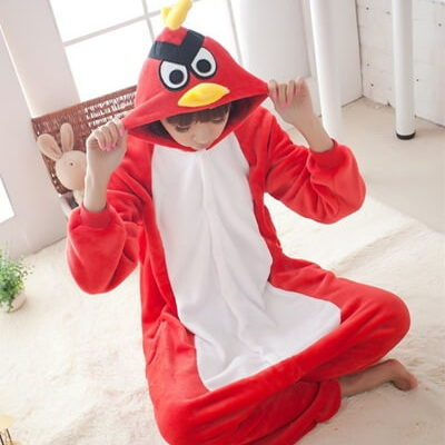 adult angry bird onesie