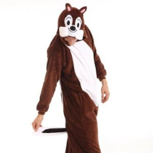 adult chipmunk onesie