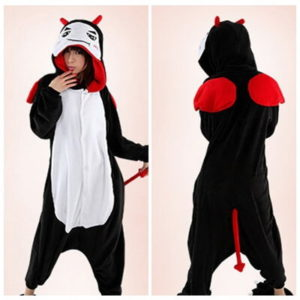 adult devil onesie
