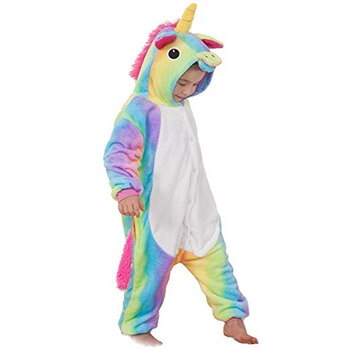 ede8fc839625 Kids Rainbow Unicorn Onesie - buy online
