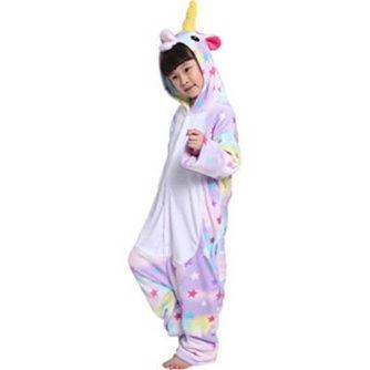 kids star unicorn onesie
