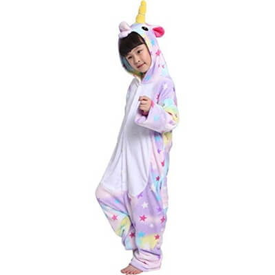 kids star unicorn onesie