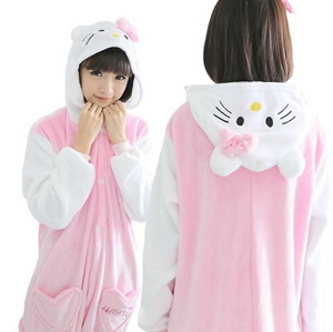 kids white kitty onesie