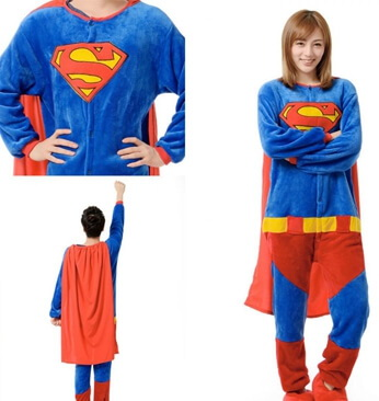 adult superman onesie