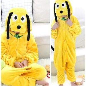 kids goofy dog onesie
