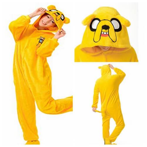 2899621274d2 Adult Adventure Time Jake Onesie - buy online