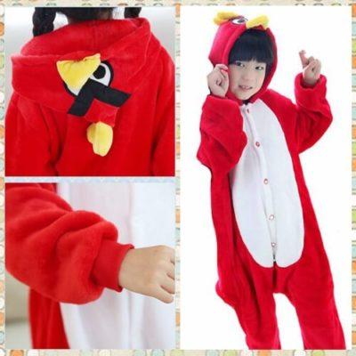kids angry bird onesie