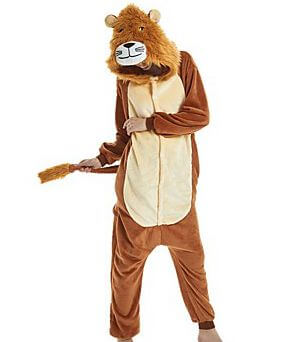 adult lion onesie