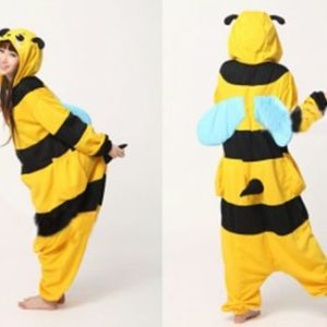 adult bee onesie
