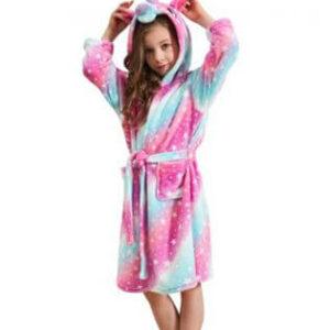 Kids Galaxy Star Unicorn robe